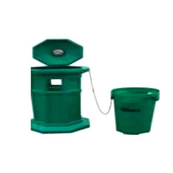 Green Sintex Litter Bins