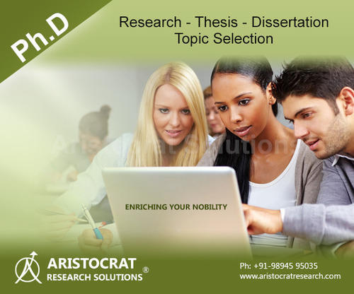 Thesis Or Dissertation For Phd