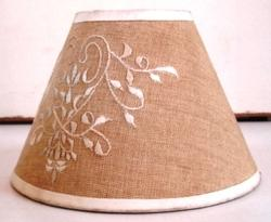 Embroidery Lamp Shade