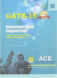GATE-15 Instrumentation Engineering Anthropology Books
