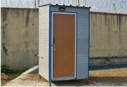 Sintex Prefabricated Movable Toilet