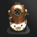 Antique Copper Diving Helmet
