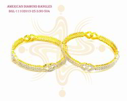 Fancy Diamond Bangles