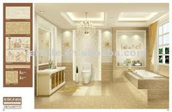 Simple  Bathroom And Foyer Kerala Home Design And Images Of Bathroom Tile