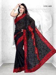 Black Partywear Bollywood Sarees