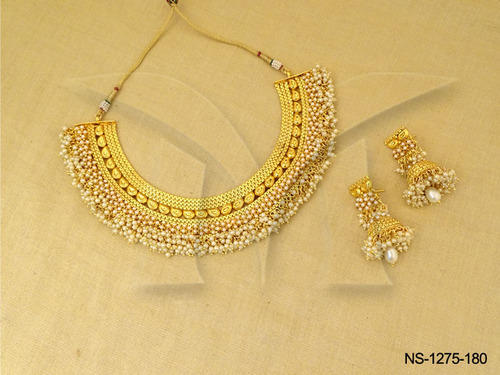 Traditional Bollywood  Antique Jewellery Necklace