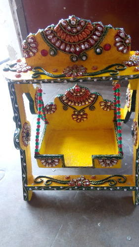 Handcrafted Wooden Jhula