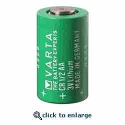 CR 1/2 AA 3V Lithium Battery
