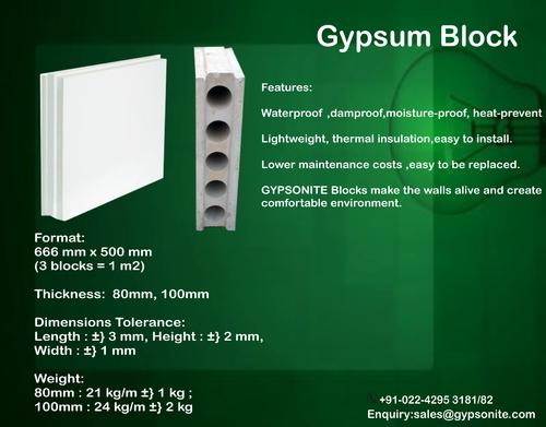 Gypsum Blocks Gypsum Block Wholesale Supplier From Mumbai