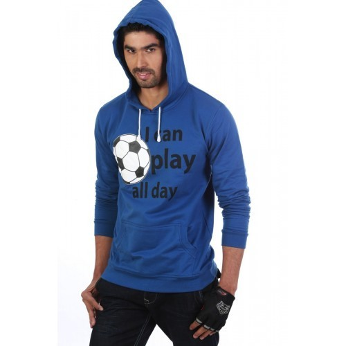 Mens Blue Sweatshirts