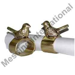 Aluminum Bird Napkin Rings