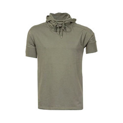 Mens Hooded T Shirt