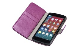 Mobile Leather Case Cover For LG Google Nexus 5