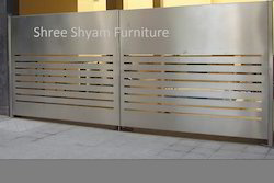 Industrial Stainless Steel Gates