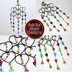 Wrought Iron Small Cluster of Love Bells & Wind Chimes