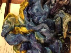 Muga Silk Sliver, Roving And Tops Suitable For Dying