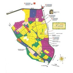 Location map in Sector 77 Noida
