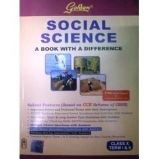 10th std cbse guides golden social science class x term i ii