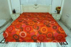 New Cotton Kantha Suzani Bed Cover
