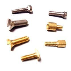 Brass Wide Slot Screw