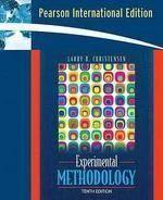 Experimental Methodology Pie