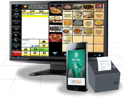 Restaurant POS Software and Bar Billing System
