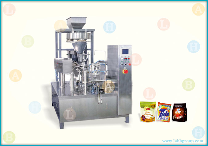 Automatic Horizontal Pick Fill and Seal Pouch Packaging Machine for Granules