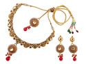 kundan meena fashion necklace