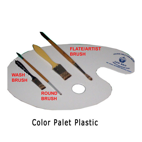 Color Palette Plastic