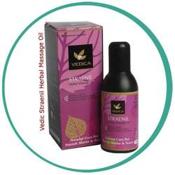 Herbal Massage Oil For Reducing Stretch Marks, Pimple Mark