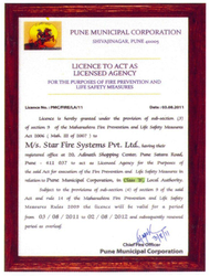 Safety Measure Certificate