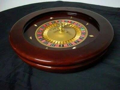 21 Inch Wooden Roulette Wheel