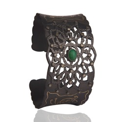 925 sterling silver jewelry black rhodium plated bangle cuff