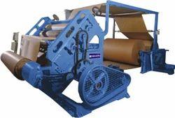 Paper Oblique Corrugation Machine