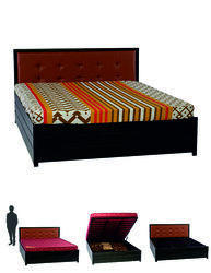 Lift On Gold Storage Bed (Queen)