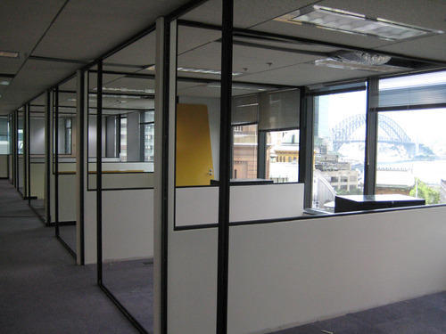 Aluminum Fabrication Services Office Partition