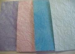 Handmade Leather Metallic Paper