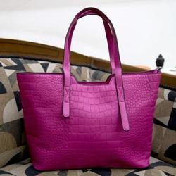 Ladies Croc Tote Handbags