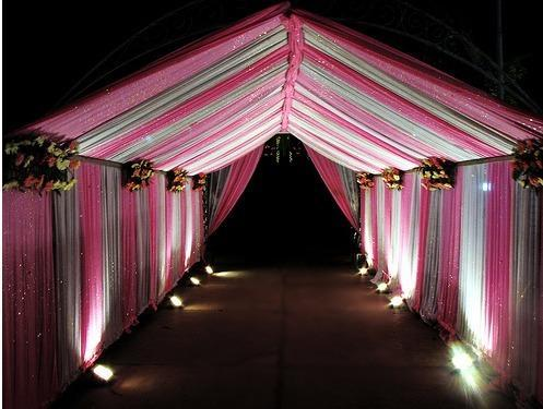 Wedding Party Pandals Ring Ceremony Pandal Manufacturer From New Delhi