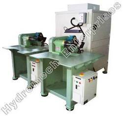 Single Ended Bufffing Machine with DCSand Acoustic Enclosure