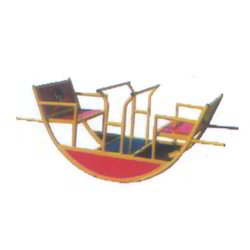 Boat Shape See Saw