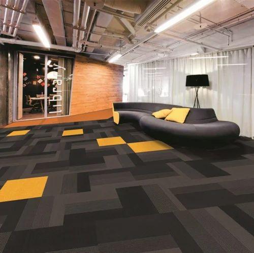 Carpet Tiles- Black