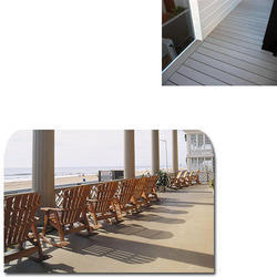WPC Porch Flooring for Hotels
