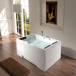Message Bath Tub  Twin Seater Whirlpool Bathtub