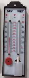 Wet And Dry Bulb Thermometer