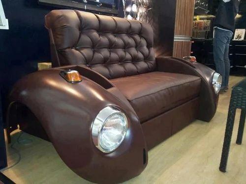 Brown Car Sofa