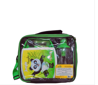 Jungle Magic Lunch Box With Water Bottle and Hand Sanitizer
