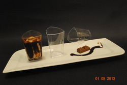 mousse cheese cake glass