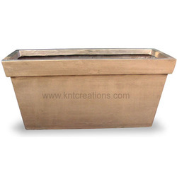 Metallic Horizontal Planter
