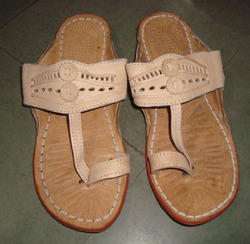 Stylist Leather Slippers